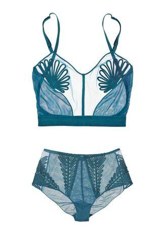 underwear blue underwear lingerie