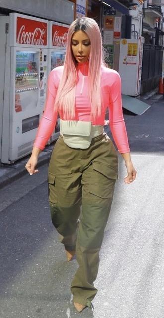 top pants kim kardashian kardashians streetstyle
