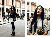 alessandra kamaile,blogger,jacket,cut-out dress