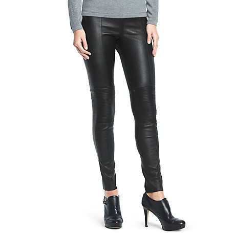 Stretch Leather Legging | Tommy Hilfiger USA