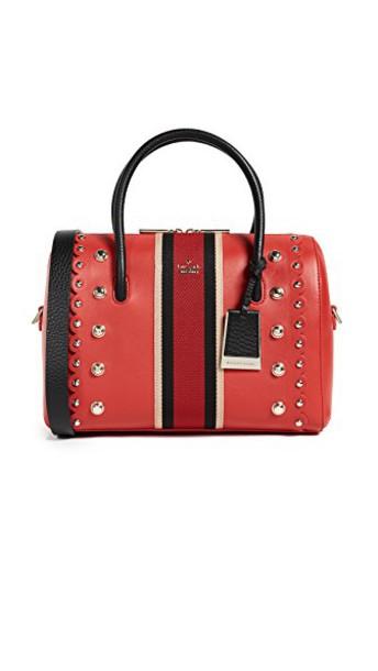 Kate Spade New York satchel studded street red bag