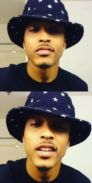Hat: august alsina, august, september, bucket hat, beard ...