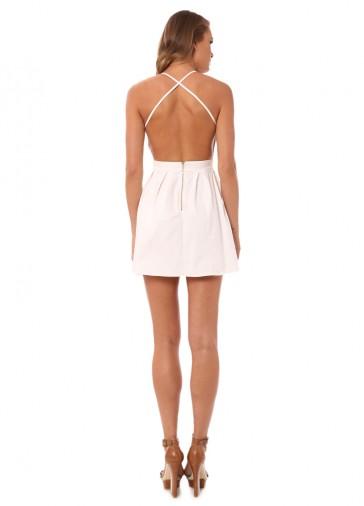 Bianca backless dress