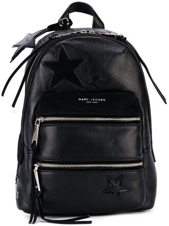 patchwork backpack black bag