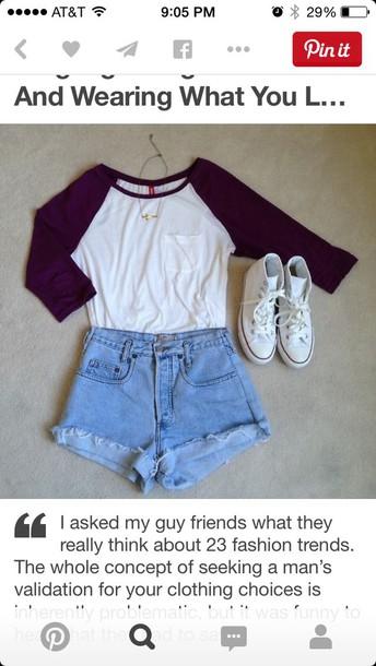 skirt converse denim shorts