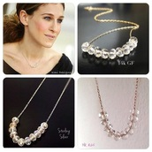 jewels,carrie bradshaw,necklace