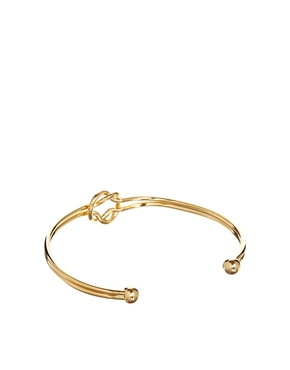 ASOS | Limited Edition Knot Cuff Bracelet at ASOS