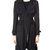 Camila Black Trench - Women's Outerwear Glamorous - 49453