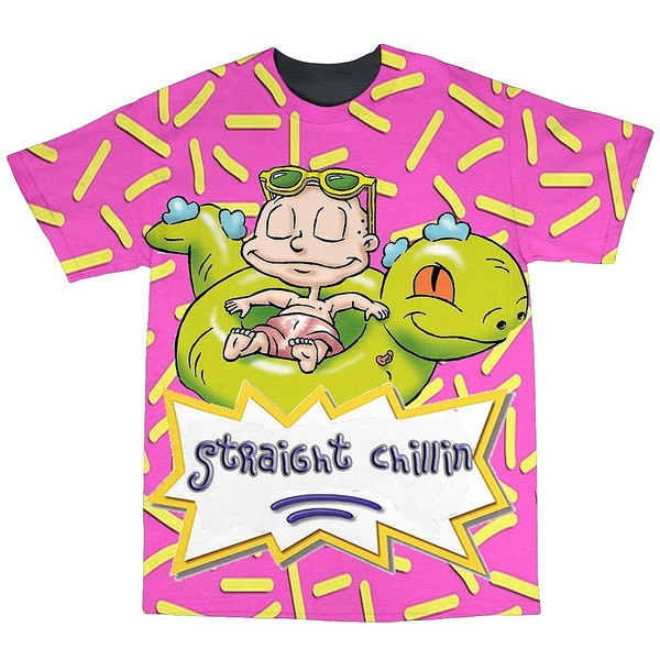 t-shirt t-shirt dope rugrats tommy hilfiger nickelodeon sublimation