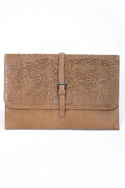 Cutout Pattern Clutch
