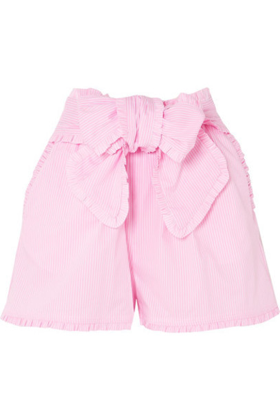 MSGM shorts cotton pink