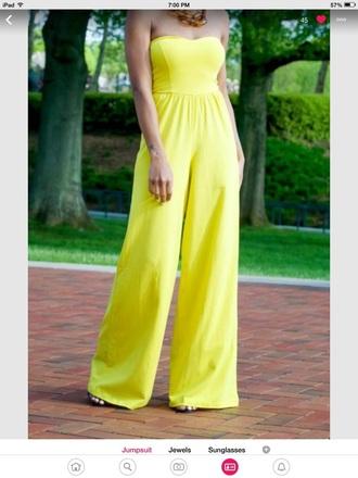 romper yellow jumpsuit