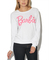Barbie hacci sweatshirt