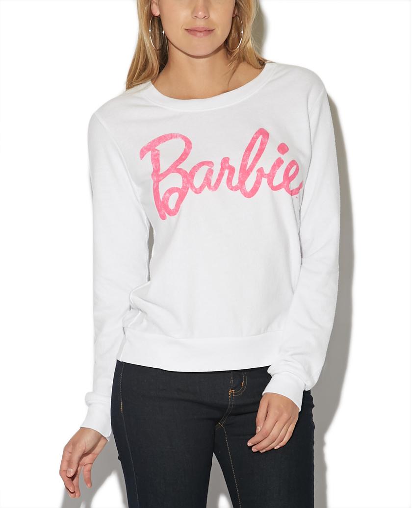 Barbie hacci sweatshirt