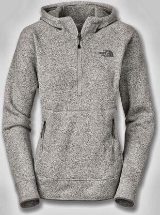 sweater north face grey hoodie coat jacket grey sweater top