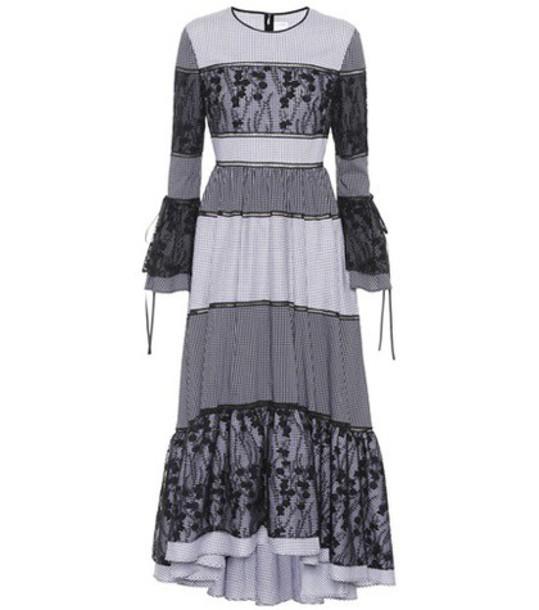 Huishan Zhang dress lace dress lace black