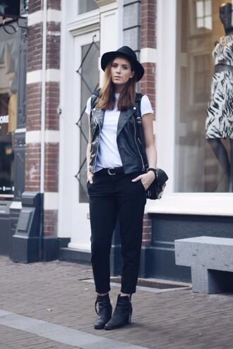 moderosa blogger jacket t-shirt shoes bag jewels