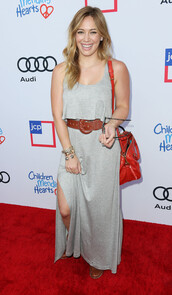 hilary duff,maxi dress,dress