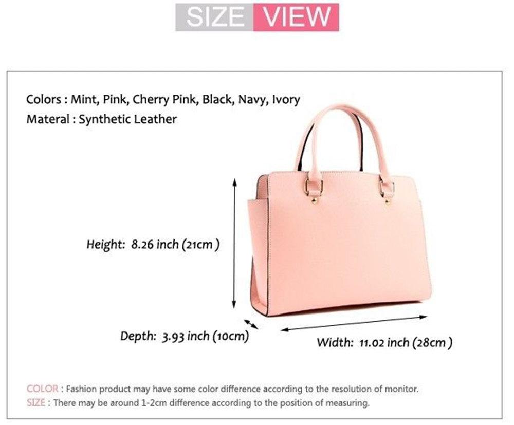 New women handbag faux leather ladies tote cross body shoulder bag purse satchel