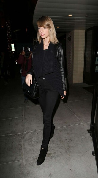 jacket taylor swift all black everything fall outfits
