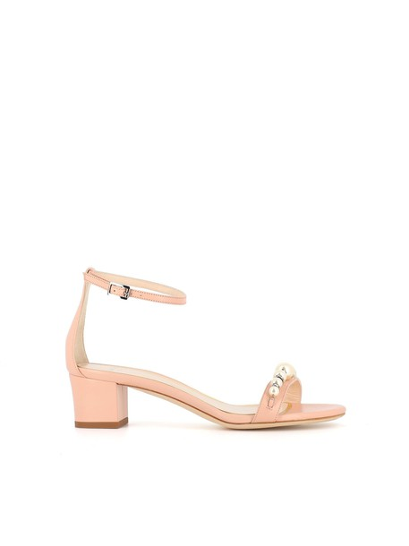 pearl pink shoes
