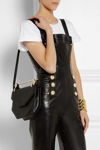M2Malletier|Amor Fati leather shoulder bag|NET-A-PORTER.COM