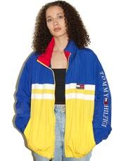 jacket,blue and yellow,tommy hilfiger,blueandyellowjacket