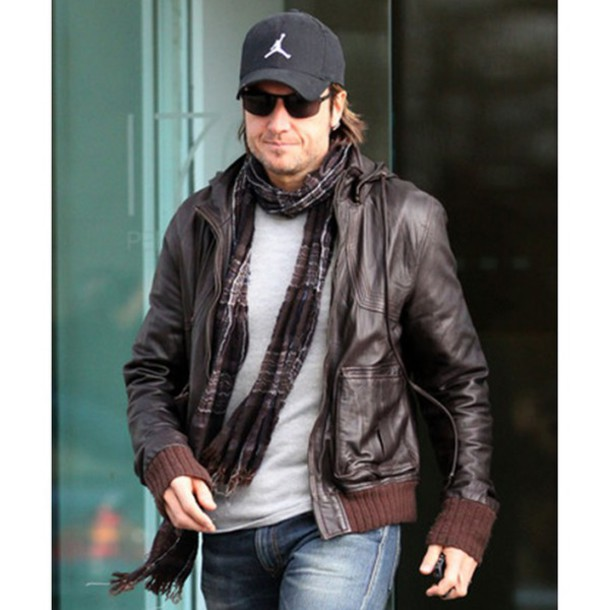 Jacket: black leather jacket, keith urban, brown leather jacket ...