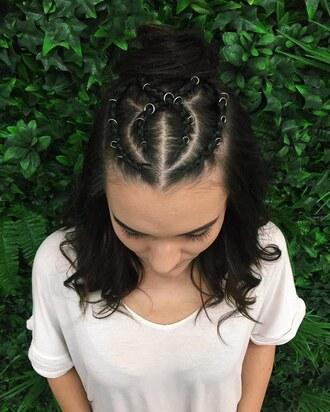 hair accessory hair rings hairstyles braid