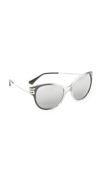 transparent sunglasses mirrored sunglasses silver grey