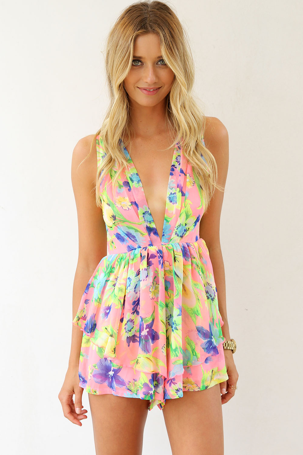 Sabo skirt  arcade playsuit