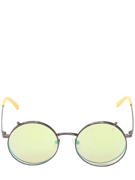 metal disney sunglasses multicolor