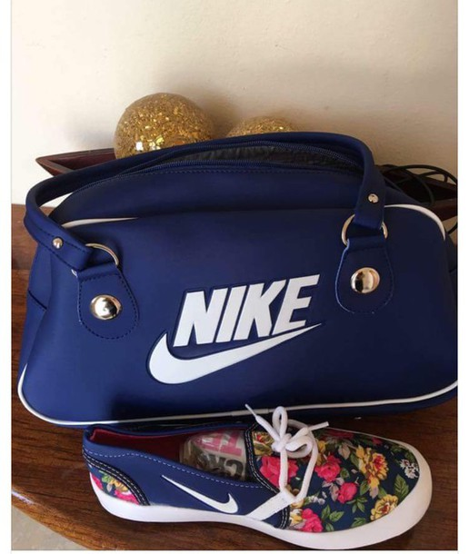 bag shoes navy nike floral women s 7468807a41ca