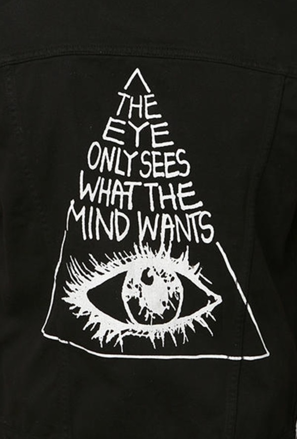 shirt black quote on it jacket blouse illuminati