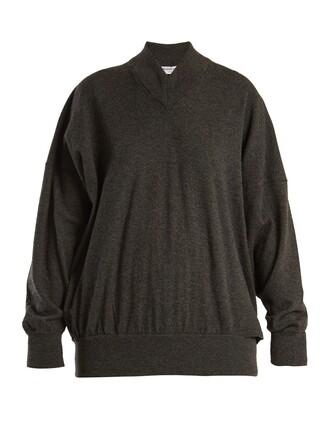 sweater oversized grey