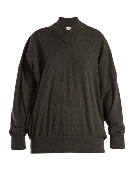 Balenciaga sweater oversized grey