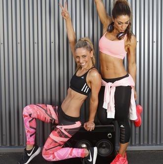 leggings sport adidas adidas leggings sportswear fitness fitness pants fitness apparel girly traning crossfit red lime sunday