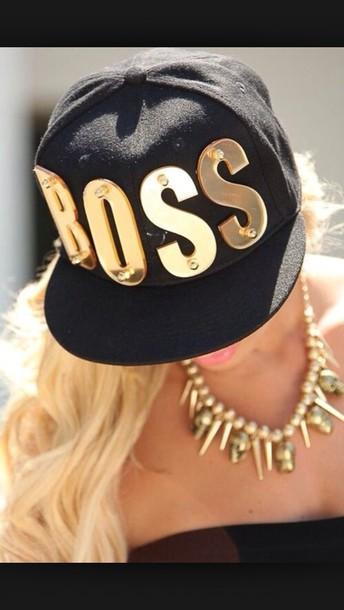 boss hat snapback