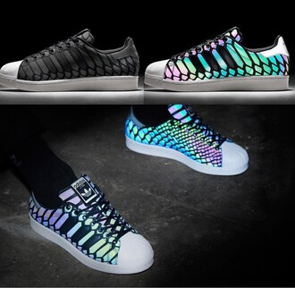 shoes adidas glow in the dark adidas superstars
