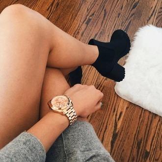 shoes black heels tumblr