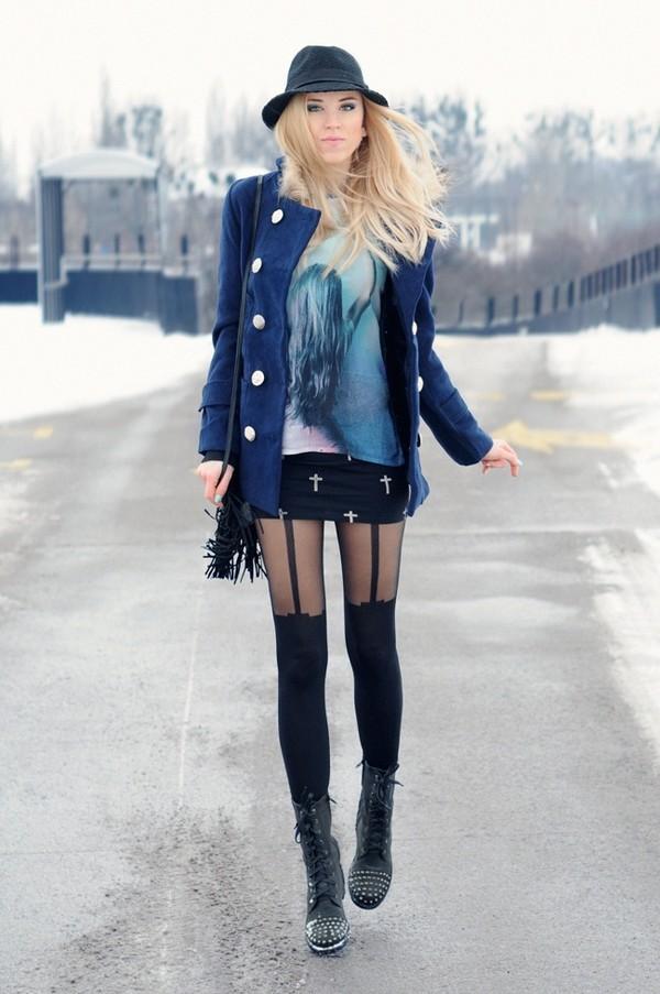 meri wild coat shirt skirt bag jewels shoes