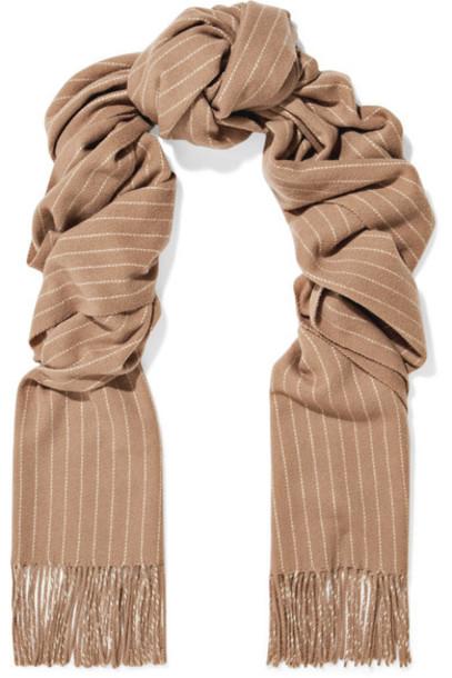 Rag & Bone scarf wool camel