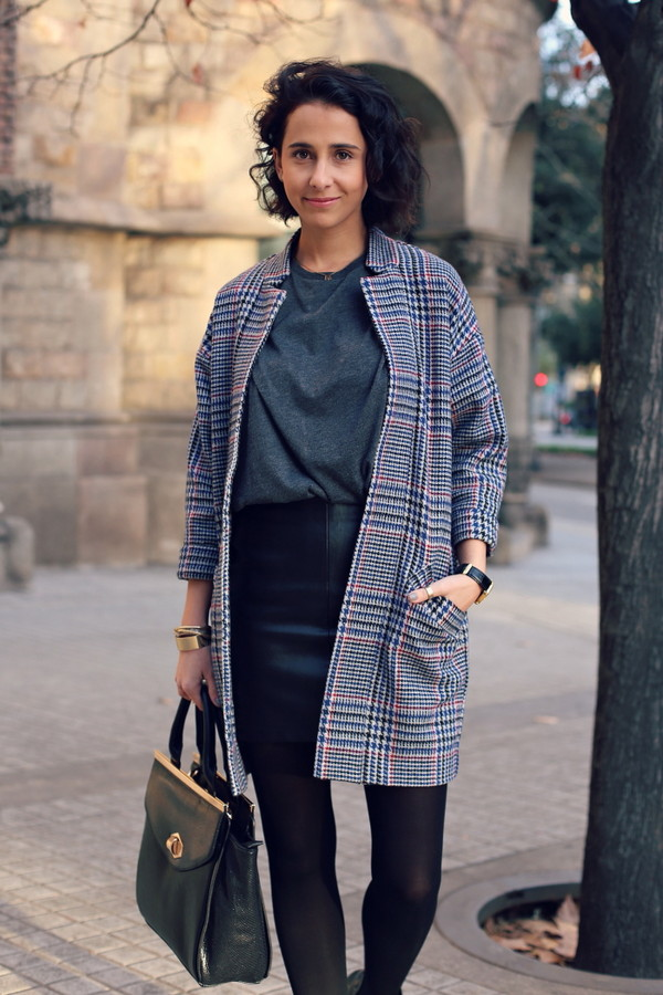 style in lima coat sweater t-shirt skirt shoes bag jewels