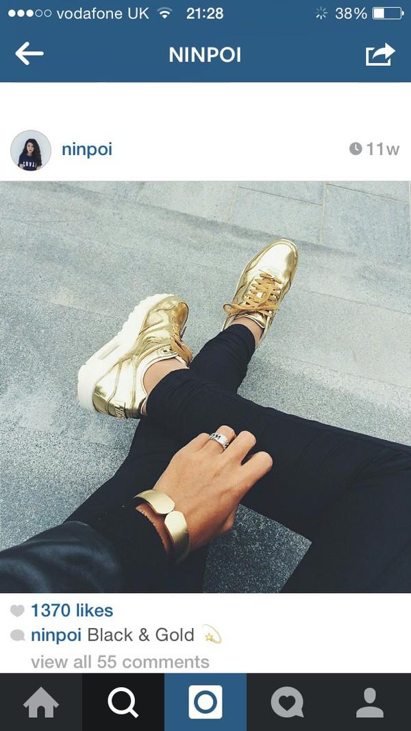 Mens Nike Air Max 90 Liquid Gold Metal Trainers | nike air