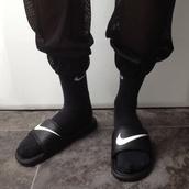 pants,black fishnet trousers