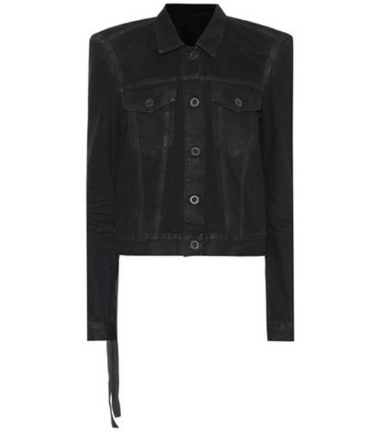 Unravel Denim jacket in black