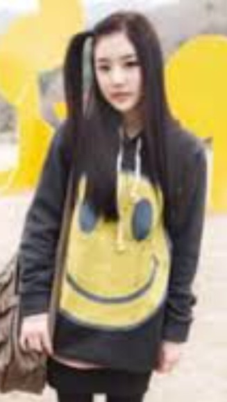 smiley face oversized oversized sweater too ulzzang ulzzang fashion