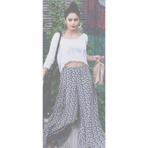 hippie flower pants flowy pants flower pants hippie pants