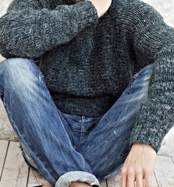 sweater green knitwear menswear gucci warm sweater boyfriend greenish