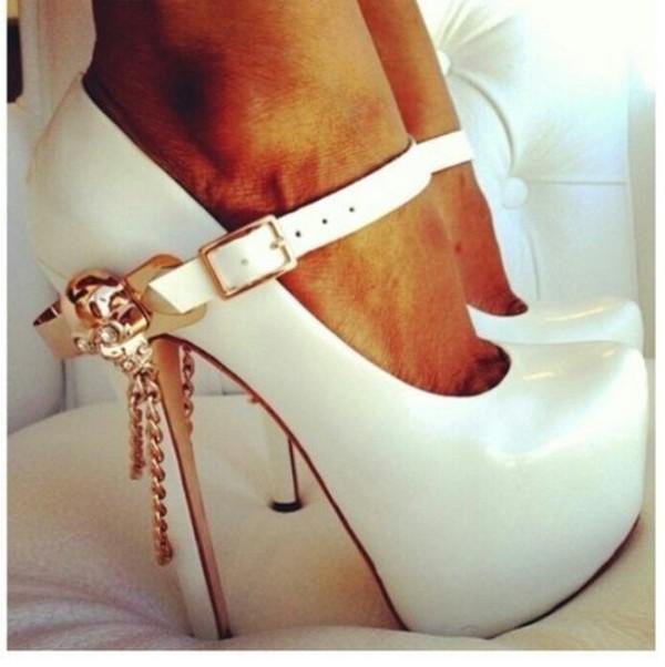 shoes heels belt ziginy